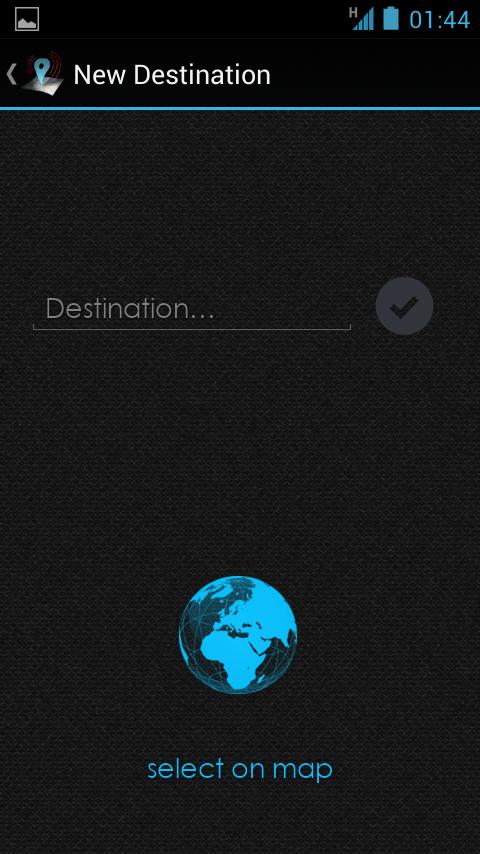Travel Alarm (Pro) - screenshot