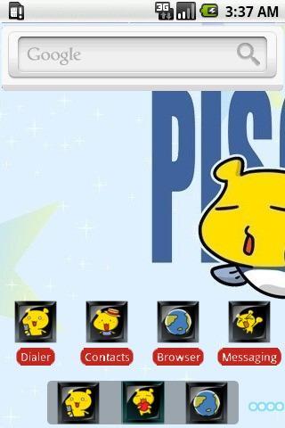 Pisces BabyBear [SQTheme] ADW - screenshot