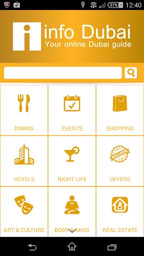 InfoDubai Travel Guide Dubai