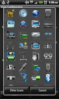 Screenshot of Gadgets - Crazy Icon Pack