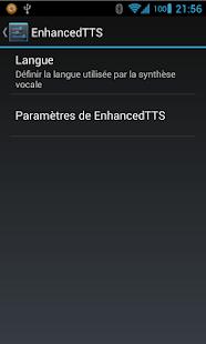 Enhanced TTS