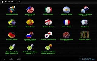 Screenshot of Soccer Winner Forecast 2013