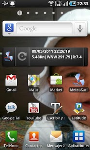 MeteoSurfing Widget - screenshot thumbnail