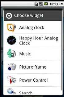Happy Hour Clock Widget - screenshot thumbnail