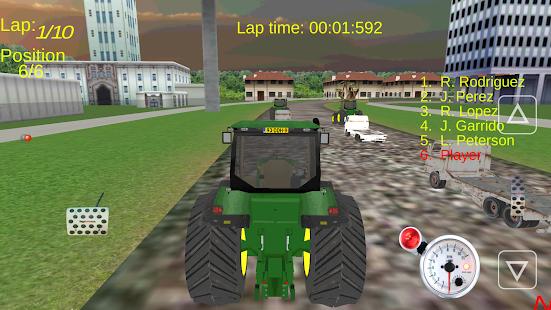 【免費模擬App】Tractor Driving 3D-APP點子