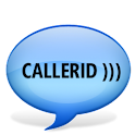 Talking Caller ID ))) logo