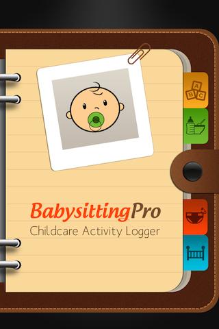 Babysitting Pro Activity Log