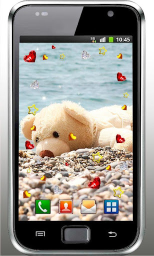 My Lovely Teddy live wallpaper