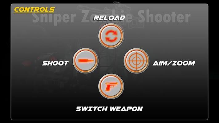 Sniper Zombie Shooting Game - screenshot