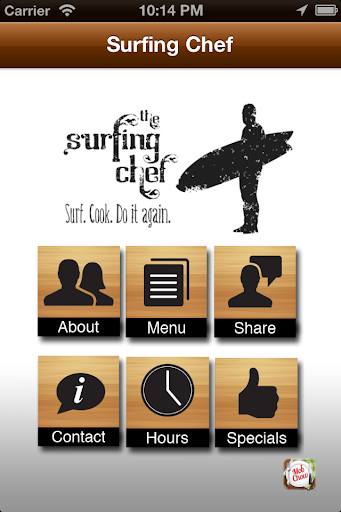 The Surfing Chef