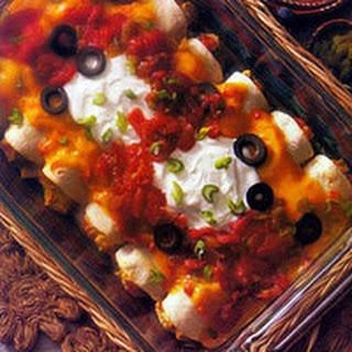 Chicken & Cheese Enchiladas.