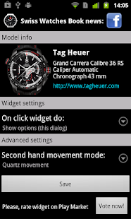 TAG Heuer Grand CarreraCalibre|玩個人化App免費|玩APPs
