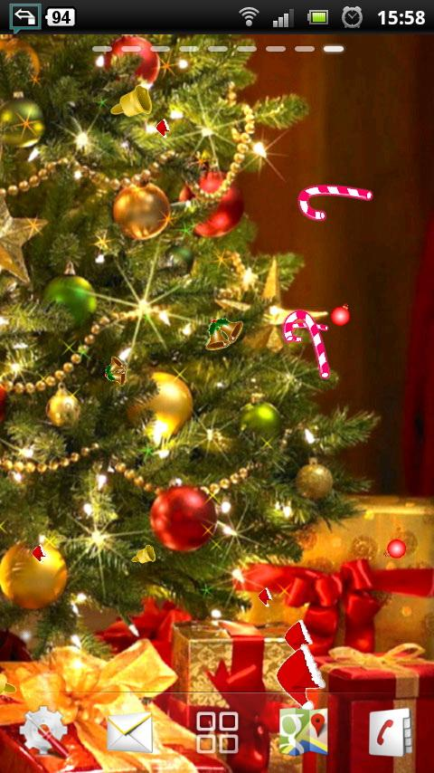 christmas live wallpaper free - Android Apps on Google Play