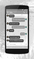 Screenshot of EvolveSMS Theme Pixl Hardcore
