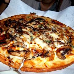portobello mushroom gfree pizza