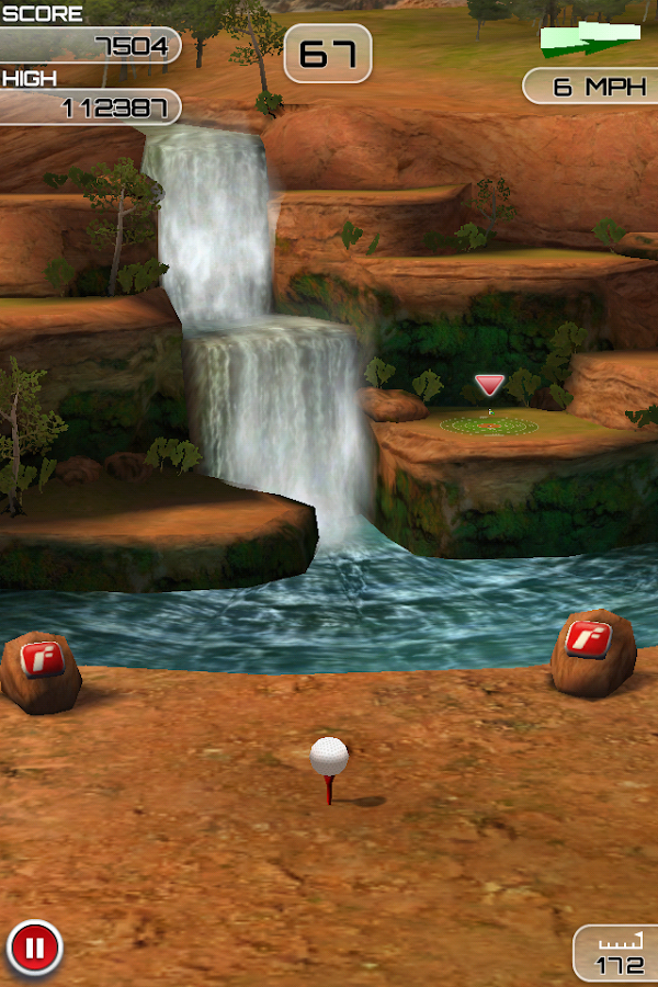 Flick Golf Extreme - screenshot