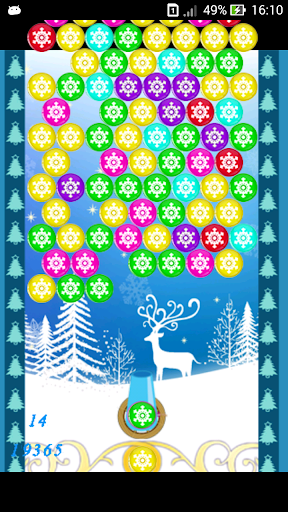 Bubble Shooter: Winter Holiday
