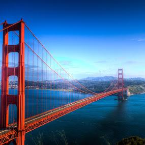 The Bridge by Peter M  - Buildings & Architecture Bridges & Suspended Structures ( golden gate bridge, bay, california, bay bridge, san francisco )