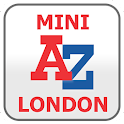 London Mini A-Z Map by Zuti