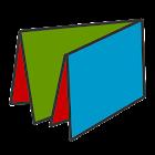 FoldableLayout Sample icon