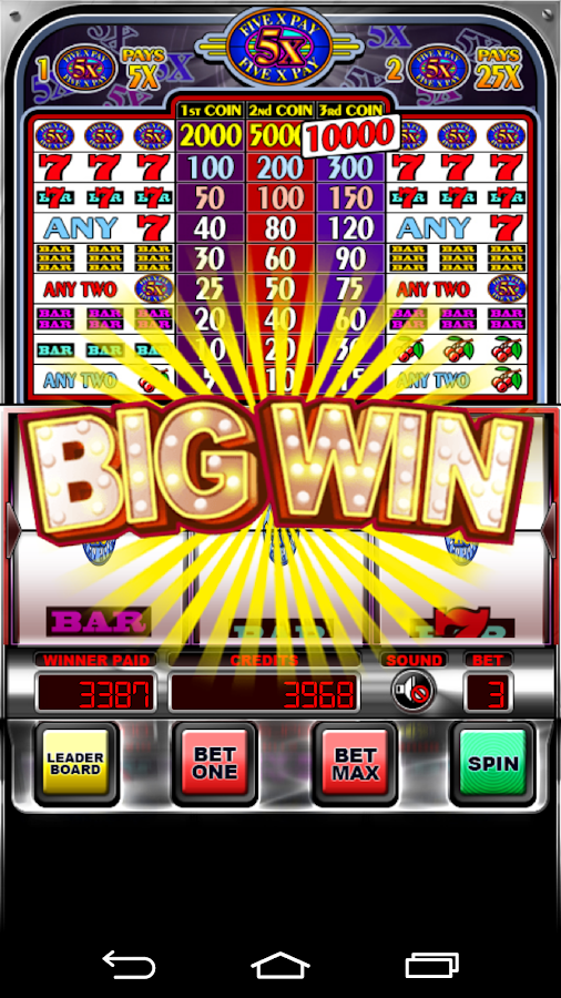Five Pay (5x) Slot Machine- screenshot