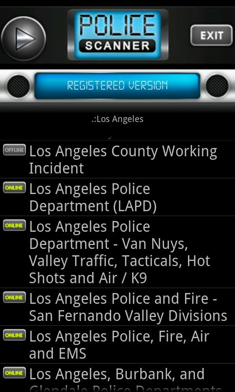 Police Scanner Radio PRO - screenshot