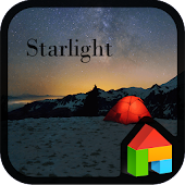 Star Light LINE Launcher theme