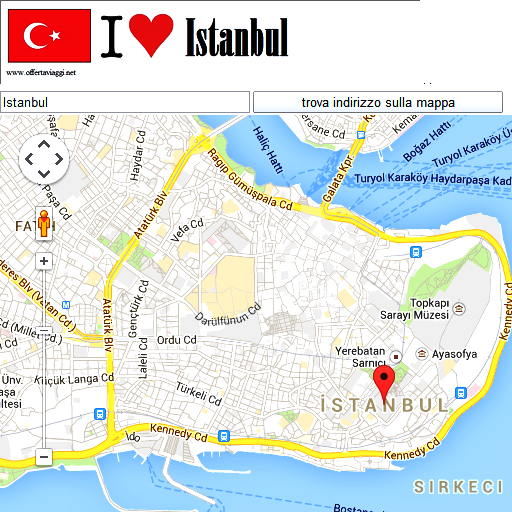 Istanbul maps