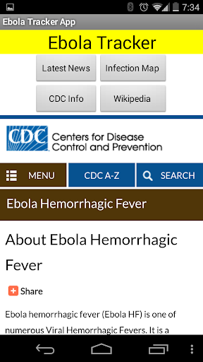 【免費新聞App】Ebola - News, Maps, Info-APP點子