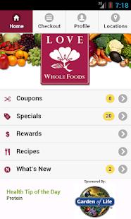 Love Whole Foods Café Market