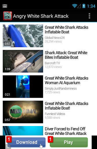 【免費娛樂App】Official White Shark Attack-APP點子
