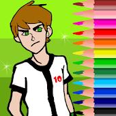 Ben 10 Coloring