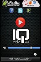 Screenshot of IQ Radio 93.9