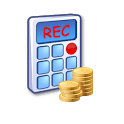 Tip Calc & Rec -Tip calculator icon