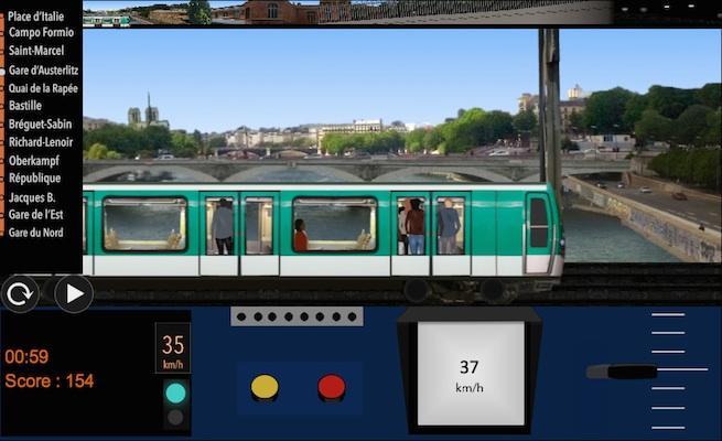 android Paris Métro Simulator Screenshot 4