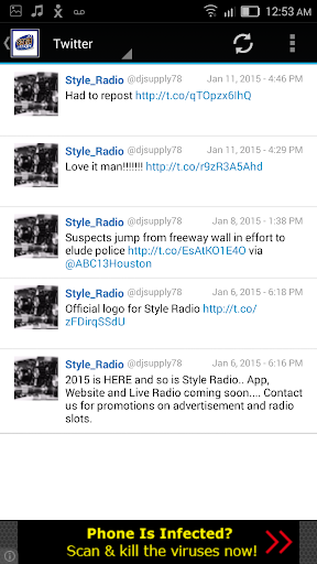 Style Radio  screenshots 3