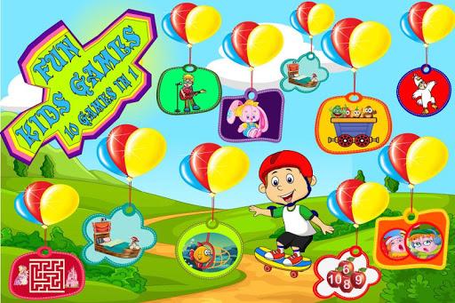 趣味儿童游戏 - 10游戏在1