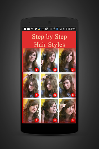 Hair Styling Steps Easy