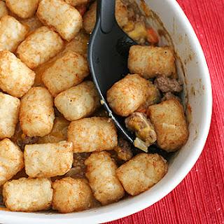 Potato Tot-Topped Shepherd's Pie