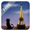 Mon Paris Live Wallpaper Free icon