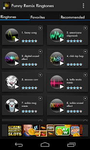 Funny Remix Ringtones - screenshot thumbnail