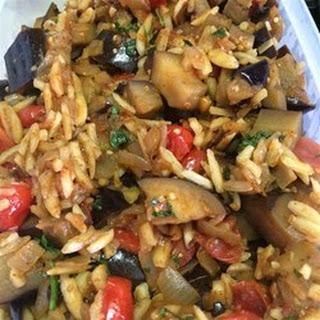 Eggplant with Almonds