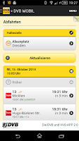 Screenshot of 5. DVB und VVO Fahrplan App