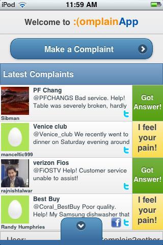 ComplainApp Pro - screenshot