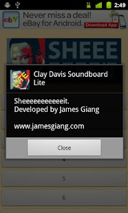 Clay Davis Soundboard Lite- screenshot thumbnail