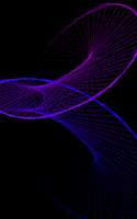 Screenshot of Space Warper - Hypnotizing LWP