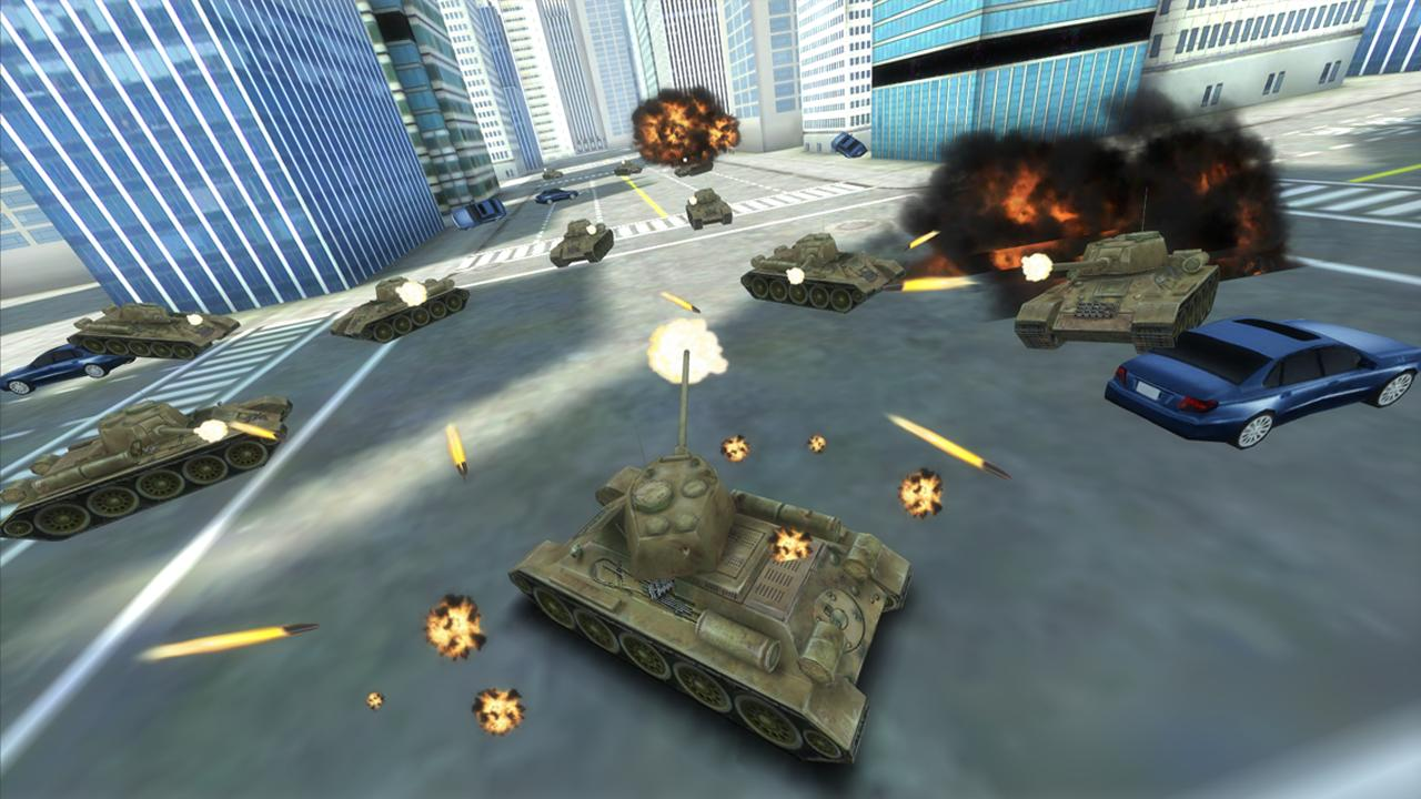 GT Tank vs New York - screenshot