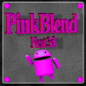 Pink Blend Next launcher icon