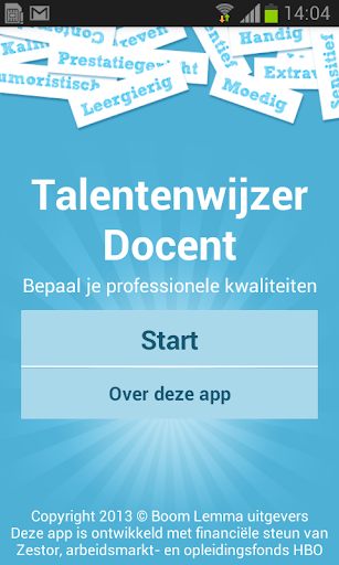 Talentenwijzer Docent
