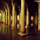 Istanbul Pictures, Istanbul basilica Cittern, Yerebatan